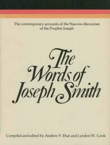The Words of Joseph Smith cover