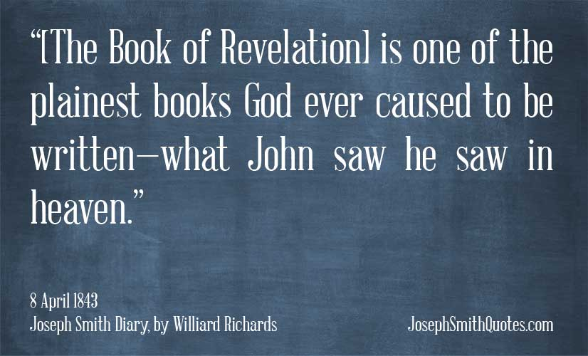 revelation is one of the plainest books