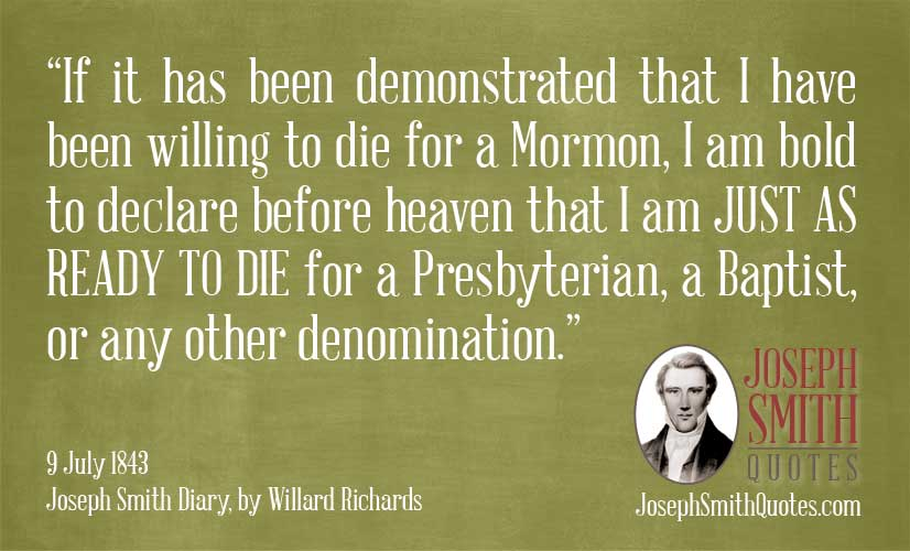ready to die for a presbyterian
